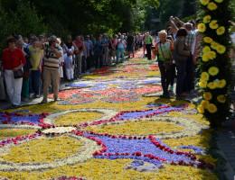 Spycimierskie Boże Ciało i dywany kwiatowe