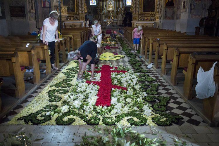 Kingdom of the Fleur de Lys Festival at Uniejow, Poland