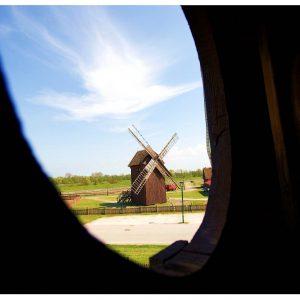 Mühle im Freilichtmuseum