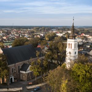 Collegiate church in Uniejów